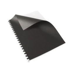 Couverture grain cuir OD A4 noir (x100)