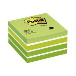Bloc cube 450f 4 couleur pastel vert