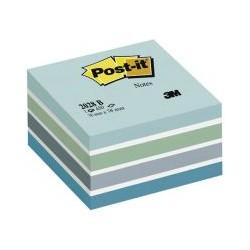 Bloc cube 450f 5 couleur pastel bleu