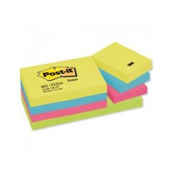 Post-it Energy 100 flles 38x51ass.(x12)