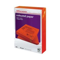 Papier rouge intense OD A4 80g (x500)