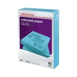 Papier bleu intense OD A4 80g (x500)