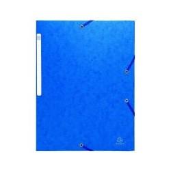 Chem. 3 rabat élast Exacompta bleuF(x10)