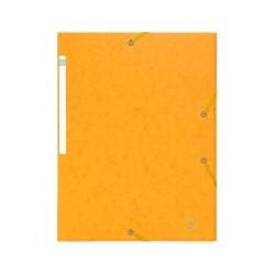 Chem. 3 rabat élast Exacompta jaune(x10)