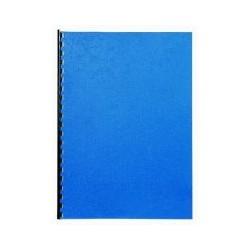 Couverture grain cuir A4 gris (x100)