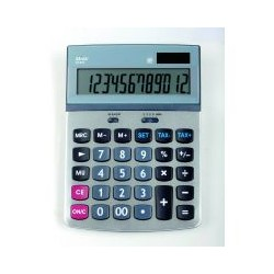 Calculatrice de bureau AT814 12 chiffres