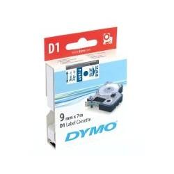 Cassette ruban D1 40914 bleu blanc