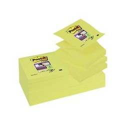 Post-it Z-note 90 f. 76x76 jaune (x12)