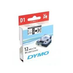 Cassette ruban D1 45010 noir transparent