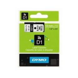 Cassette ruban D1 45013 noir blanc