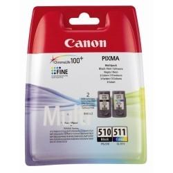 Pk 2 Encres CANON PG510/CL511 2970B010