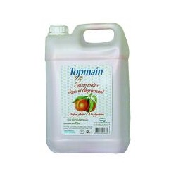Savon liquide Topmain Peche 5 litres
