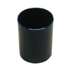 Pot à crayon noir translucide