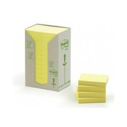 Post-it rainbow jaune 38x51mm (x24)