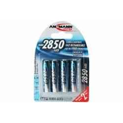 Lot 4 piles rechargeables LR06 AA NiMh 2850mAh