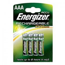 PK4 BATTERIES ENERGIZER RECHARGEABLE AAA
