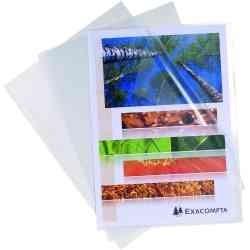Pochettes coin PVC incolore A4 (x10)