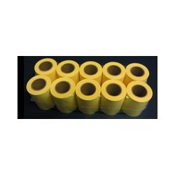 Rech. pr ruban note adhésive jaune (x10)