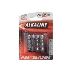 PILE ALCALINE LR03 AAA 1,5V BLISTER DE 4
