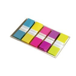 Marque-pages étroits Post-it neon(x100)