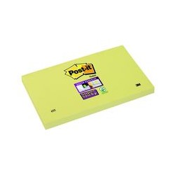 Post-it Super Sticky 76x127mm jaune(x12)