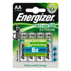 PK4 BATTERIE ENERGIZER RECHARGEABLE AA