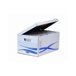 Container maxi bleu et blanc (x5)