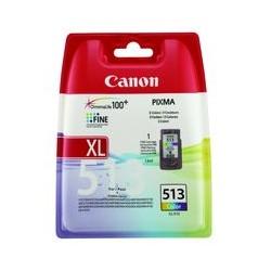 Cart. Jet encre Canon CL-513 couleur