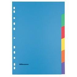 Intercalaires couleur OD A4 Maxi(x 6)