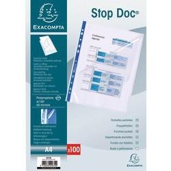 Pochettes perforées Stop Doc Exa. (x100)