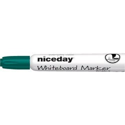 Marqueur tabl. blanc Niceday WCM1-5 Vert
