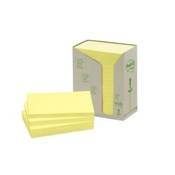 Post-it rainbow jaune 76x127mm (x16)
