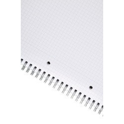 Cahier spiral OD 70g A4+ 160 pages 5x5