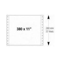 Listing 380x11 1 pli 60g uni (x2500)