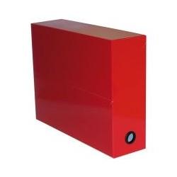 Boite transfert pelliculée rouge (x5)