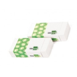 Gomme liderpapel 12x20x40mm blanche efface crayon...