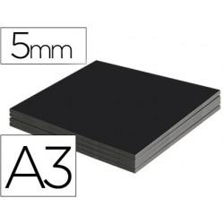 Carton plume liderpapel a3 épaisseur 5mm unicolore noir