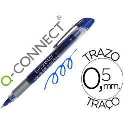 Roller q-connect écriture 0.5mm pointe moyenne 0.7mm grip...