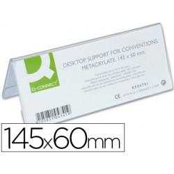 Chevalet q-connect porte-noms méthacrylate idéal système...