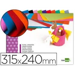 Papier crépon liderpapel 34g/m2 format a4+ 240x315mm 10...