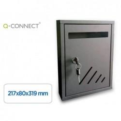 Boîte aux lettres q-connect métallique acier très...