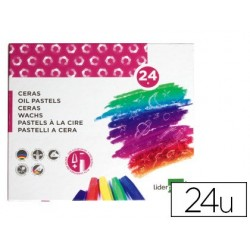 Crayon cire liderpapel 75mm diamètre 12mm taille-crayons...