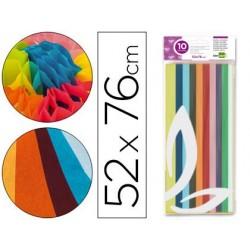 Papier de soie liderpapel 52x76cm 18g/m2 coloris assortis...