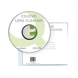 Disque nettoyant q-connect lecteur cd/dvd micro brosses...