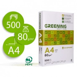 Papier liderpapel multifonction greening a4 80g grand...