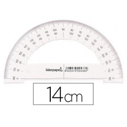 Rapporteur liderpapel 180 degrés deux échelles opposées 0...