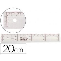 Règle liderpapel graduation verticale horizontale 20cm...