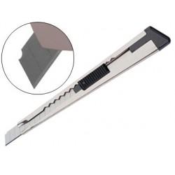 Cutter q-connect plastique lame acier prédécoupé 9mm...