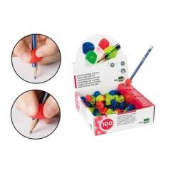 Adaptateur crayon liderpapel en plastique boîte de 100...