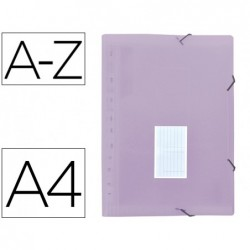 Trieur liderpapel polypro a4 210x297mm 700 microns 13...